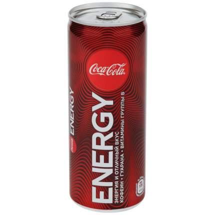 Coca-Cola Coca-Cola Energy (без сахара), 250 мл