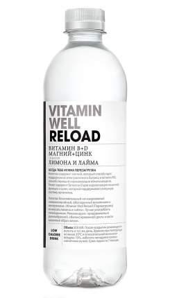 Восстановительный напиток Vitamin Well Reload, 500 мл, лимон/лайм