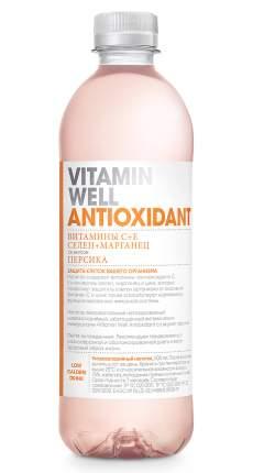 Vitamin Well Напиток Vitamin Well Antioxidant, 500 мл, вкус: персик