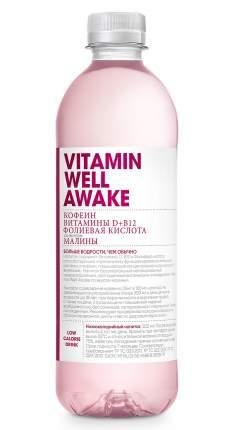 Восстановительный напиток Vitamin Well Vitamin Well Awake, 500 мл, малина