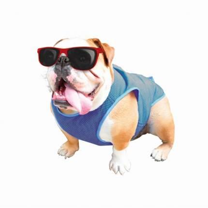 Жилет для собак Nobby Cooling-West, охлаждающий, голубой, 28 х 64 см
