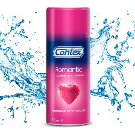 Гель-смазка Contex Plus Romantic 100 мл