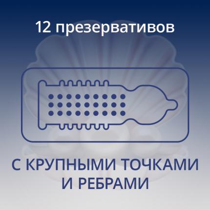 Презервативы Contex Extra Sensation 12 шт.