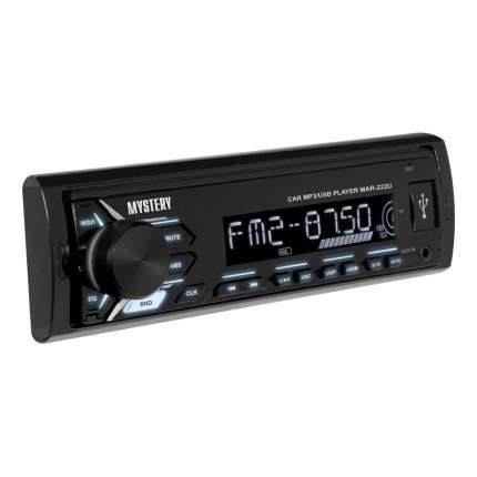 Автомагнитола Mystery MAR-222U ,4x50 Вт,MP3,USB,AUX, белая подсветка