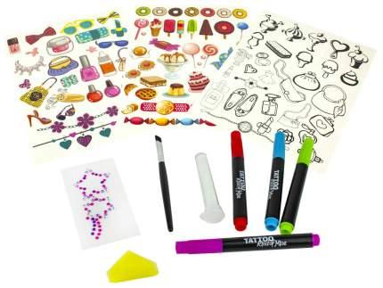 Набор для тату Lukky Бьюти-Дизайн с тату-маркерами и стикерами