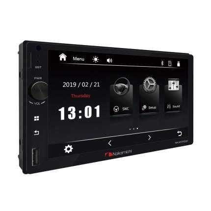 Автомагнитола Nakamichi NAM1700R ,2DIN,USB,BT,AUX,сенсор