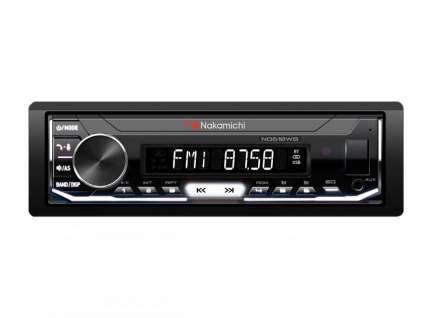 Автомагнитола Nakamichi NQ610WB 1 din, USB, AUX, Bluetooth, 50x4 Вт, белая подсветка