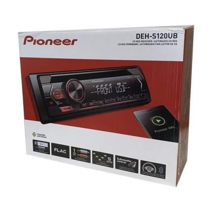 Автомагнитола PIONEER DEH-S120UB, 4x50вт,USB/MP3/CD/Android, красная подсветка