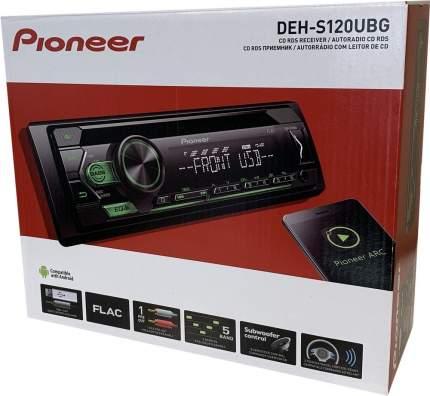 Автомагнитола PIONEER DEH-S120UBG, 4x50вт,USB/MP3/CD/Android, зеленая подсветка
