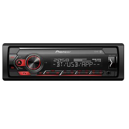 Автомагнитола PIONEER MVH-S420BT,4x50вт ,USB,BT,MP3,iPod/Android