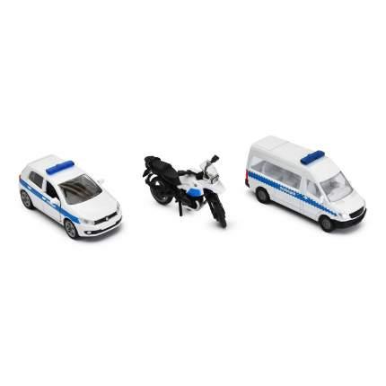 Набор машинок Siku Полиция