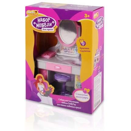 Набор мебели для кукол DollyToy Магическое зеркало со световыми и звуковыми эффектами