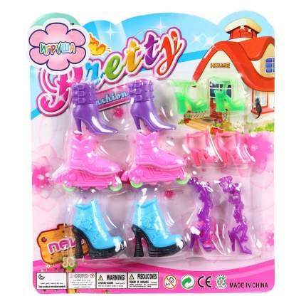 Набор обуви для кукол Shantou Gepai Pretty, 6 пар
