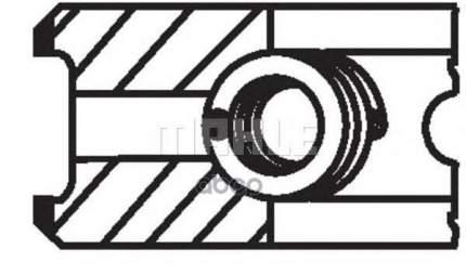 Кольца ДВС Mahle/Knecht 02214N0