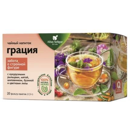 """Чайный напиток Altay Seligor """"Грация"""", травяной, 20 пакетиков"""