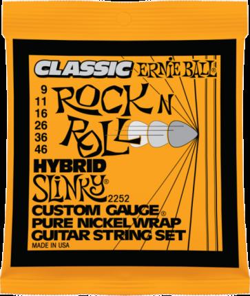 Струны для электрогитары Ernie Ball 2252 9-46