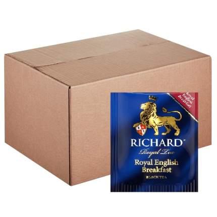 """Чай черный Richard """"Royal English Breakfast"""", листовой, 200 сашетов"""