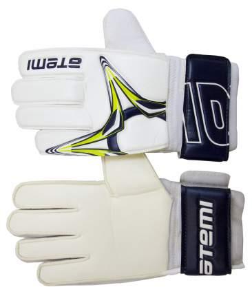Перчатки вратарские фб ATEMI AFG-10, бел., размер S