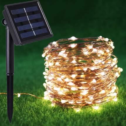 Садовая гирлянда СТАРТ на солнечной батарее 100LED, 16860