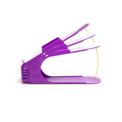 Подставка для обуви, фиолетовый, Blonder Home BH-ORGA-04