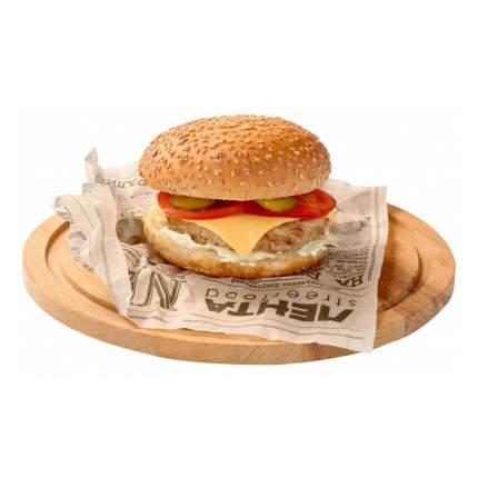 Бургер Лента с курицей и чесночным соусом 230 г