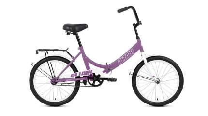 """Велосипед Altair City 20 2021 14"""" фиолетовый/серый"""