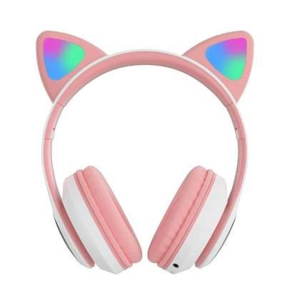 Беспроводные наушники Cat Ear P33M Pink