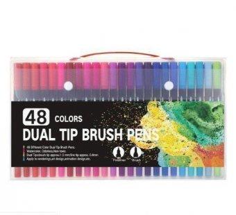 Набор маркеров и линеров SoulArt, 48 цветов