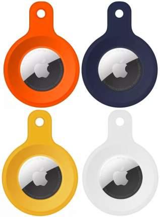 Комплект чехлов Wiwu 4 in 1 Silicone Pack для Apple AirTag (Multicolor)