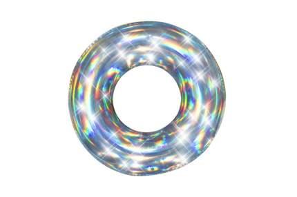 Круг надувной Bestway 36240 Iridescent разноцветный 8781