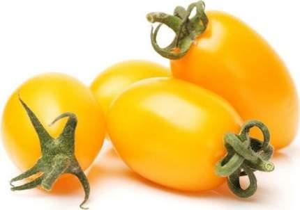 Помидоры сливовидные оранжевые 300 г