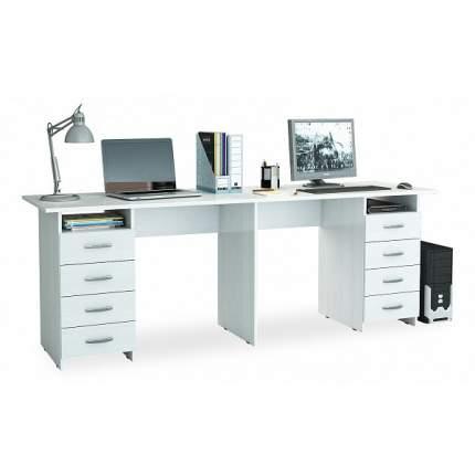 Письменный стол МФ Мастер Тандем-3 (0120), белый