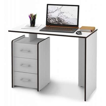 Письменный стол МФ Мастер Слим-1, белый