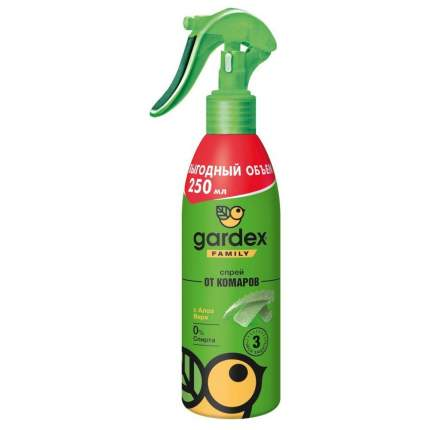 Спрей от комаров GARDEX Family 250 мл