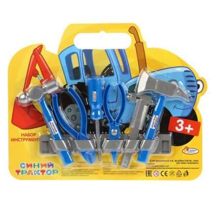 Набор строительных инструментов Играем Вместе Синий Трактор