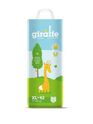 Подгузники Lovular (Ловулар) Giraffe XL (13-18кг) 42 шт/уп