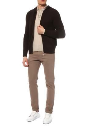 Кардиган мужской Mir cashmere YME16-025 коричневый 3XL