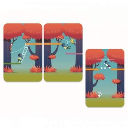Настольная карточная игра Djeco Лесное приключение