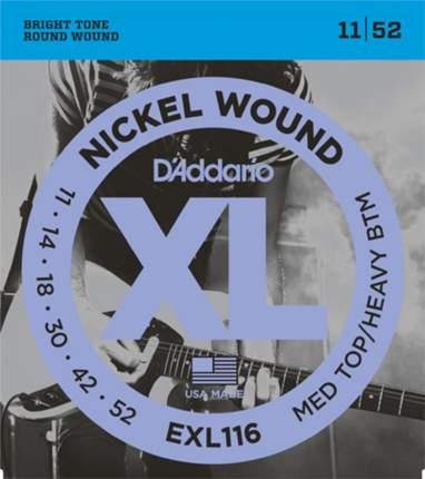 Струны для электрогитары D'ADDARIO EXL116