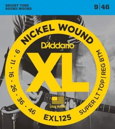 Струны для электрогитары D'ADDARIO EXL125