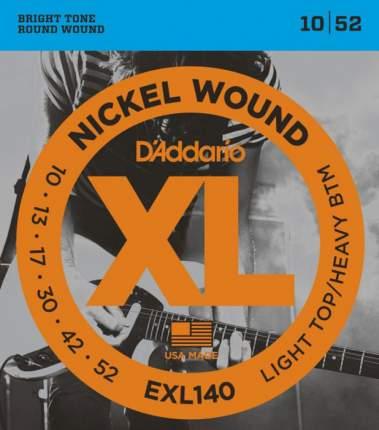 Струны для электрогитары D'ADDARIO EXL140