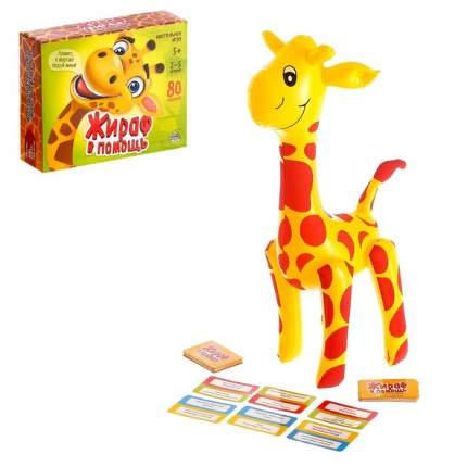 Настольная игра ЛАС ИГРАС Жираф в помощь