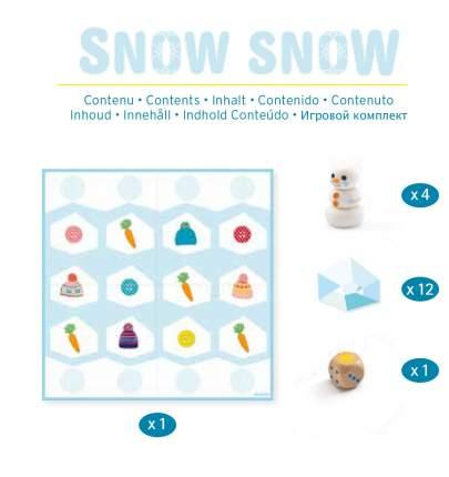 Настольная игра Djeco Снег-снежок