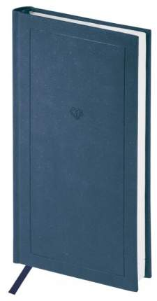 """Еженедельник недатированный """"Brilliance"""", карманный, 64 листа, кожзам, синий"""