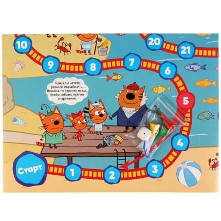 Настольная игра-ходилка Умка Три кота Рыбалка
