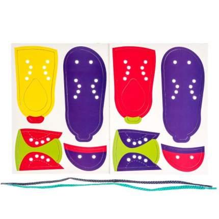 Настольная игра-шнуровка Умка Ботинок