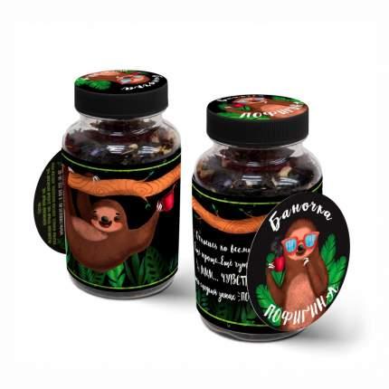 """Чай Chokocat в банке """"Баночка пофигина"""", чёрный листовой с добавками, 60 гр"""