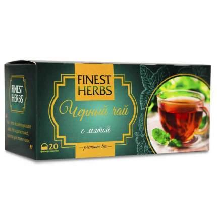 "Чай Finest Herbs ""Чёрный чай с мятой"", 30 гр"