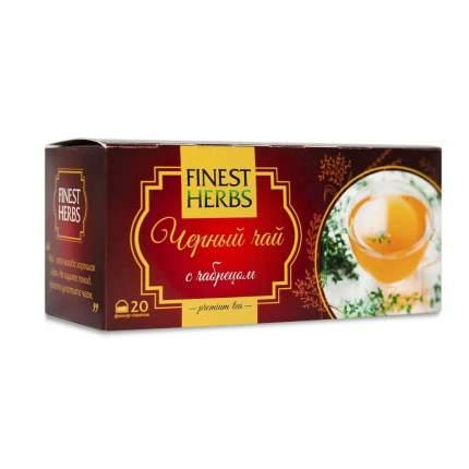 "Чай Finest Herbs ""Чёрный чай с чабрецом"", 30 гр"