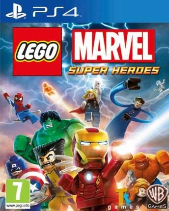 Игра LEGO Marvel Super Heroes для PlayStation 4